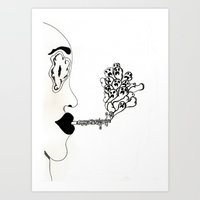 VICES // DEMONS Art Print