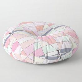 Sorbet Pinks Floor Pillow