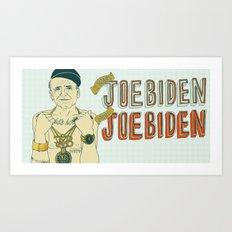 Joe Biden Art Print