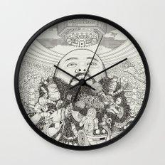 ACTION BRONSON Wall Clock