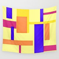 geo Wall Tapestries featuring Geo by lillianhibiscus