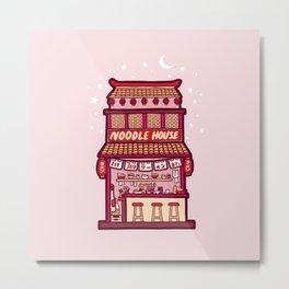 Noodle House Metal Print