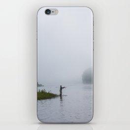 Morning Fishing iPhone Skin