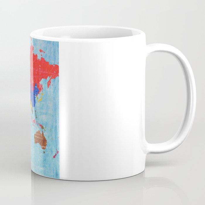 World Map Coffee Mug By Elvia Society6