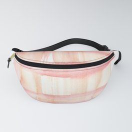 141203 Abstract Watercolor Block 55 Fanny Pack