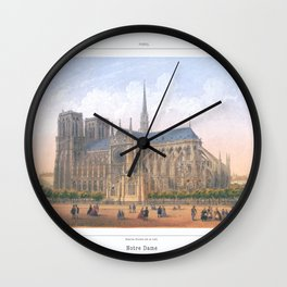 Paris Wall Art french antique Paris Bedroom Decor Paris art print Paris Decor office decoration vint Wall Clock