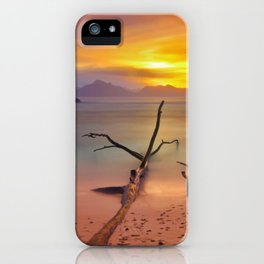 time painted iPhone Case