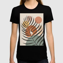 Cat and Plant 32 T-shirt