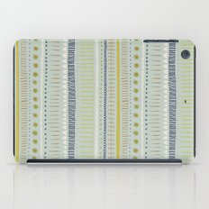 Teal & Green Pattern iPad Case