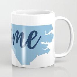 North Carolina Home State Map Print Coffee Mug