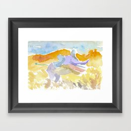 Magical Elephant Framed Art Print