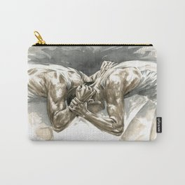 Headbanger -Wrestling Watercolor Carry-All Pouch