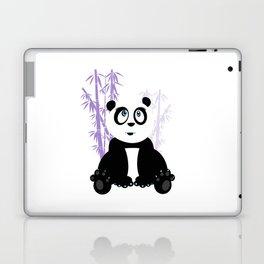 Panda Girl - Purple Laptop & iPad Skin