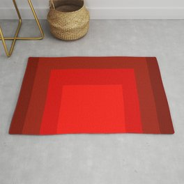 Block Colors - Reds Rug