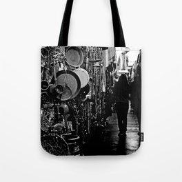 Market-B&W Tote Bag