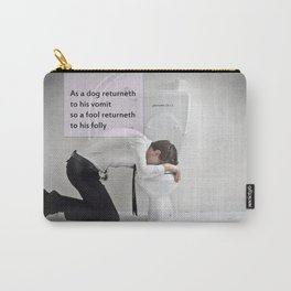 Proverbs 26:11 Carry-All Pouch