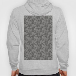 Abstract Geometrical Triangle Patterns 2 Benjamin Moore 2019 Trending Color Kendall Charcoal Gray HC Hoody