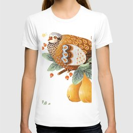 A Partridge In A Pear Tree T-shirt