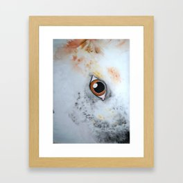 She Likes Dirt Framed Art Print