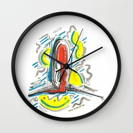Rockstar Oz Wall Clock