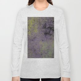 Darkened Sky - Textured, abstract painting Long Sleeve T-shirt