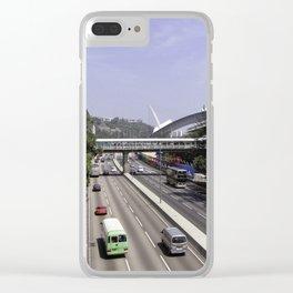Sha Tin Clear iPhone Case