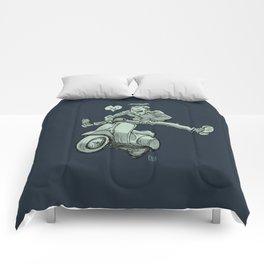Scootering Comforters