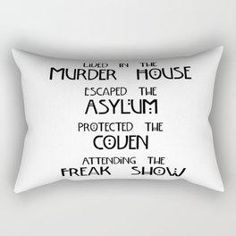 American Horror Four Seasons Rectangular Pillow
