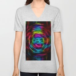 Abstracts in Color No 1, 2019 Unisex V-Neck