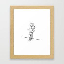 Catffler Framed Art Print