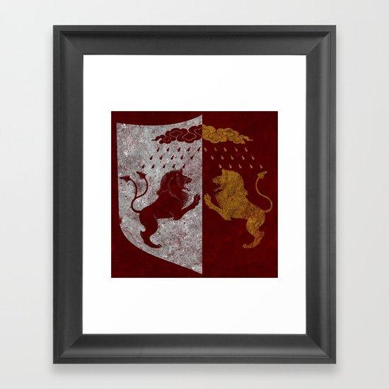 The Rains of Castamere Framed Art Print