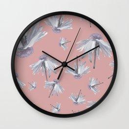 Dancing Daisies Wall Clock