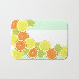 Citrus Fruits Bath Mat