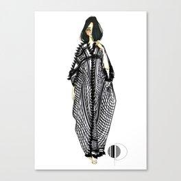 Her Kaftan Canvas Print
