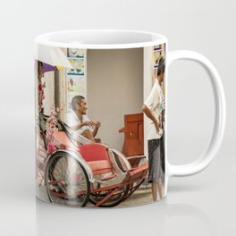 George Town, Penang Trishaw Break 2 Coffee Mug