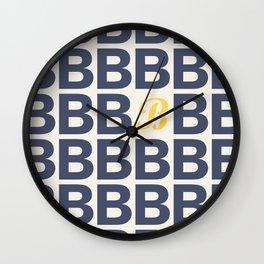 All rigid - You dynamic Wall Clock