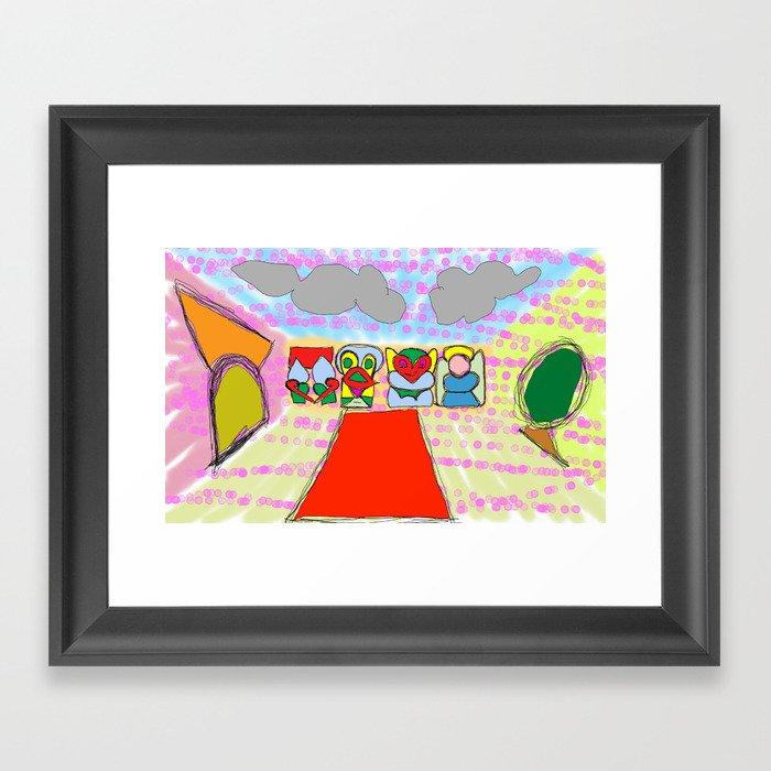 look 4 it Framed Art Print