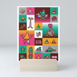 We love Lanna 2 Mini Art Print