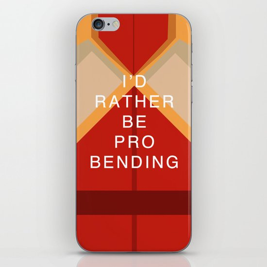 Mako Would Rather Be Probending iPhone & iPod Skin