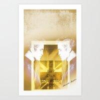 actor Art Prints featuring Robert Pattinson - Actor by Sherazade's Graphics