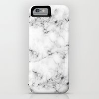 iPhone 6 Power Case featuring Real Marble by Grace