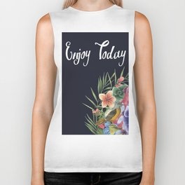 ENJOY TODAY Biker Tank