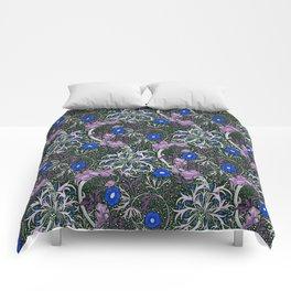 "William Morris ""Seaweed"" 4. Comforters"