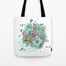jellyfish from mars Tote Bag
