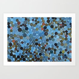 My Coin Collection  Art Print