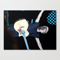 niall horan Canvas Prints featuring Niall Horan by clevernessofyou