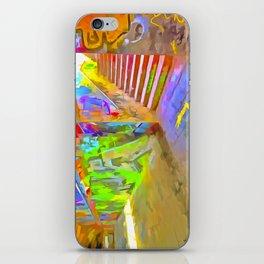 London Graffiti Pop Art iPhone Skin