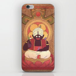 Enlightened Mr. Popo iPhone Skin
