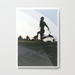 Bound To Loving Track Metal Print