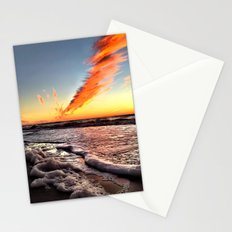When Clouds Strike Stationery Cards